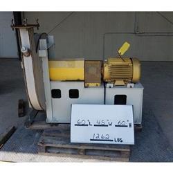 Image 20 HP TWIN CITY FAN HRO-SW High Pressure Radial Blower 1424446