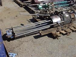 Image 10 HP HILL MIXER Homogenizer - 550 Volt, Stainless Steel 1424717