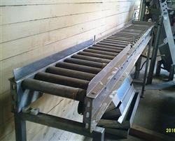 Image 12in X 120in Roller Conveyor - Stainless Steel Frame 1425334