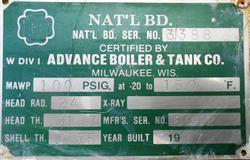 Image 150 Gallon ADVANCE Tank - 304 Stainless Steel 1425436
