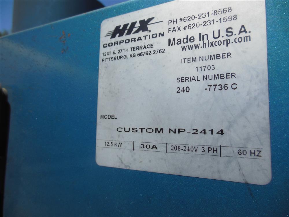 Image HIX Electric Belt Mug Oven 1425987