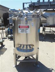 Image 66 Gallon DCI Jacketed Reactor - 316 Stainless Steel  1426098