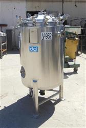 Image 66 Gallon DCI Jacketed Reactor - 316 Stainless Steel  1426099