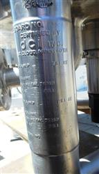 Image 66 Gallon DCI Jacketed Reactor - 316 Stainless Steel  1426105