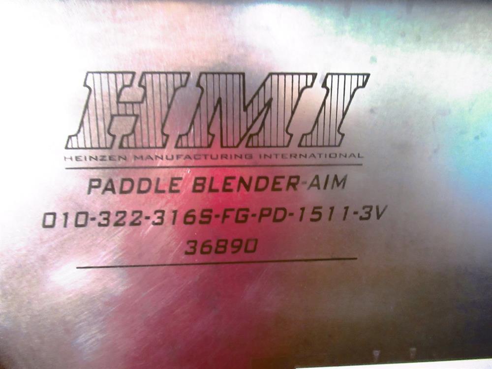 Image 10 Cu. Ft. HMI Paddle Mixer 1426215