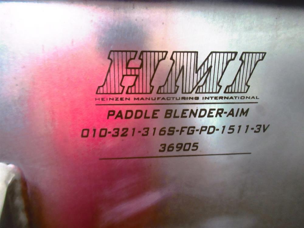 Image 10 Cu. Ft. HMI Paddle Mixer 1426216