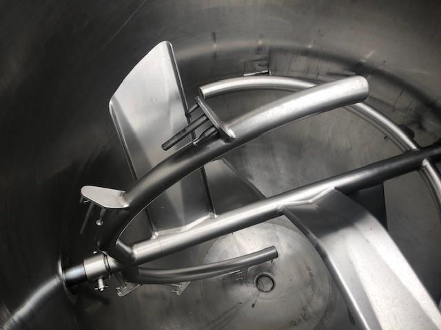 Image 200 Gallon JC PARDO Jacketed Kettle - Stainless Steel 1456494