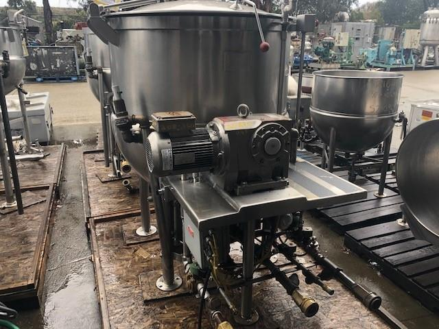 Image 200 Gallon JC PARDO Jacketed Kettle - Stainless Steel 1456496