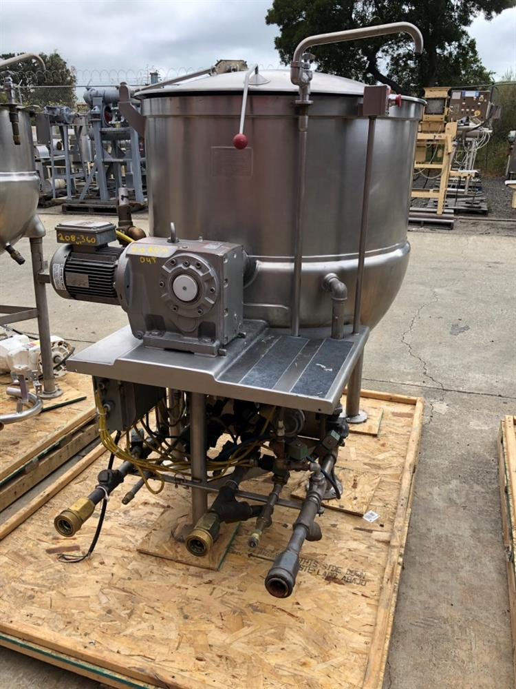 Image 200 Gallon JC PARDO Jacketed Kettle - Stainless Steel 1426693