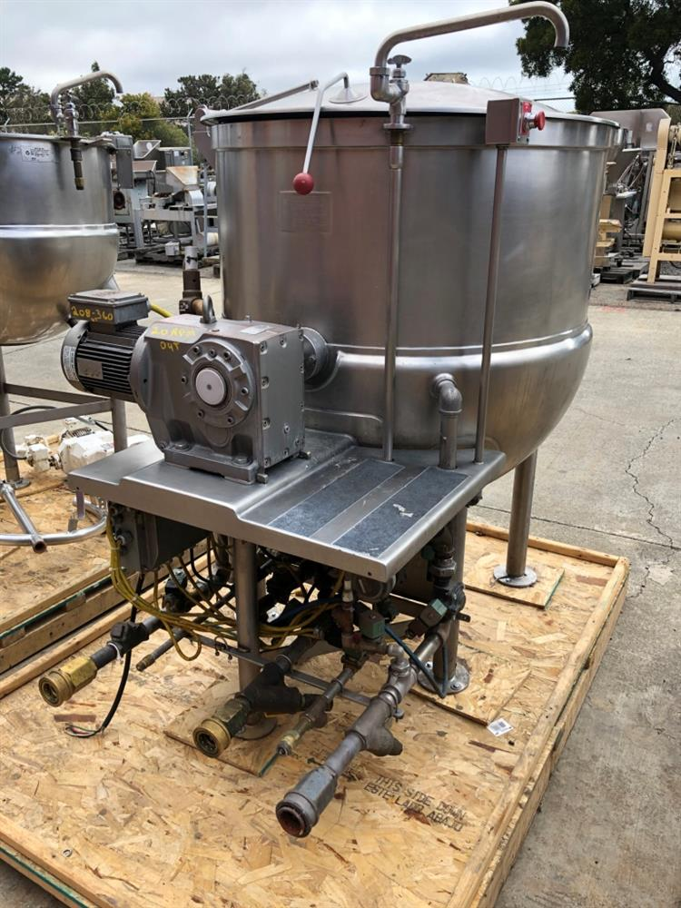 Image 200 Gallon JC PARDO Jacketed Kettle - Stainless Steel 1426696