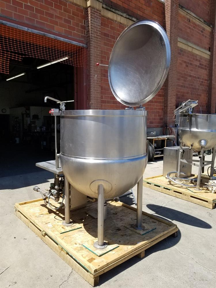 Image 200 Gallon JC PARDO Jacketed Kettle - Stainless Steel 1426698