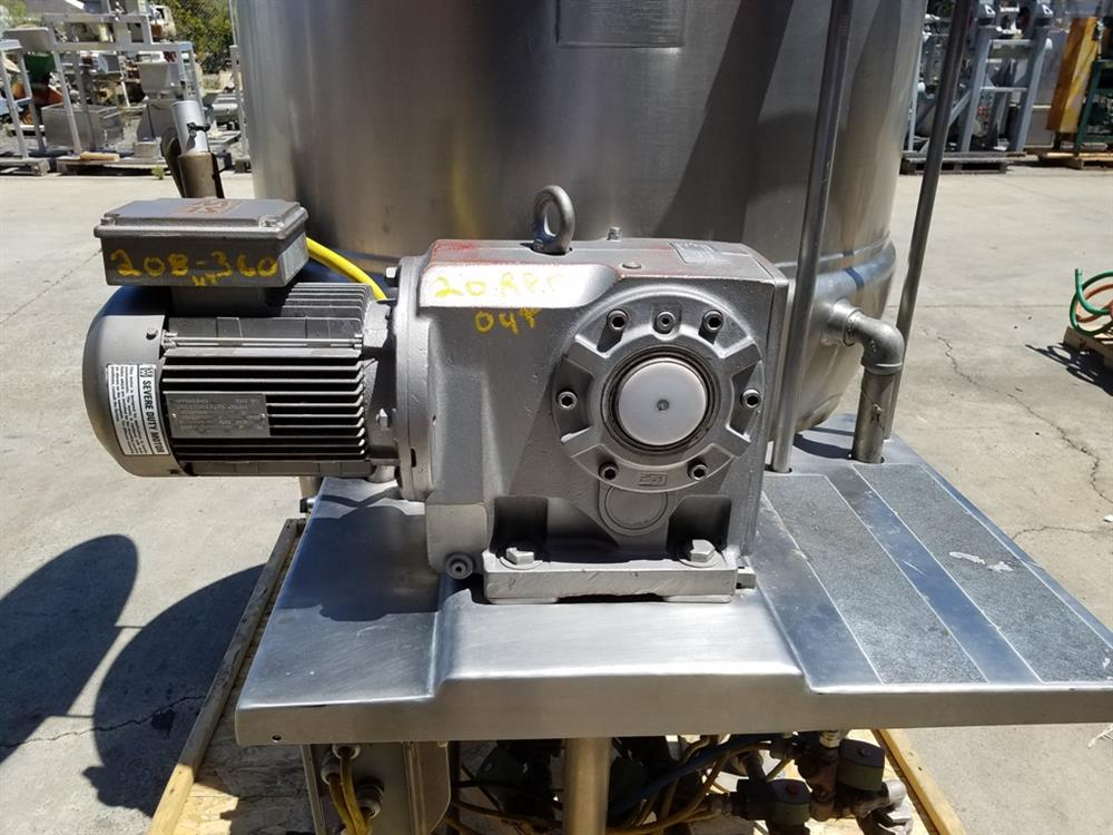 Image 200 Gallon JC PARDO Jacketed Kettle - Stainless Steel 1426700