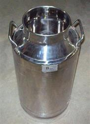 Image 10 Gallon BCAST Milk Can - Stainless Steel 1426959