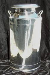 Image 10 Gallon BCAST Milk Can - Stainless Steel 1426961
