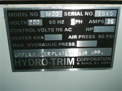 Image HYDROTRIM Laboratory Thermoformer 1427130