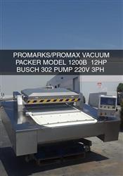 Image PROMAX PROMARKS 1200 Continuous Vacuum Belted Machine 1427930