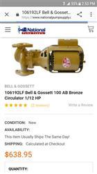 Image BELL AND GOSSET 100 AB Bronze Pump 1427852
