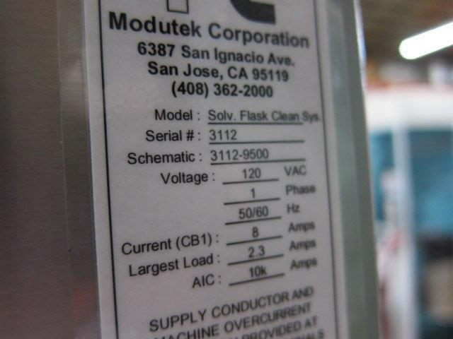 Image MODUTEK Flask Bottle Washer PLC Controlled 1428273