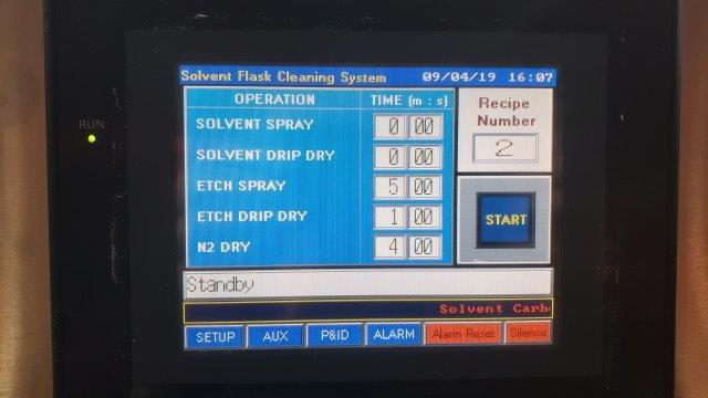 Image MODUTEK Flask Bottle Washer PLC Controlled 1428285