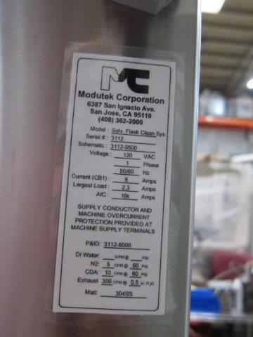 Image MODUTEK Flask Bottle Washer PLC Controlled 1428326