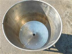 Image 60 Gallon Mixing Tank - Stainless Steel 1428631