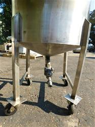 Image 60 Gallon Mixing Tank - Stainless Steel 1428632