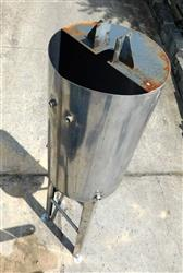 Image 150 Gallon Tank - Stainless Steel 1428662