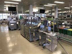 Image MARCHESINI MB 440 - MA 305 Blister Line with Cartoner and Checkweigher 1429360