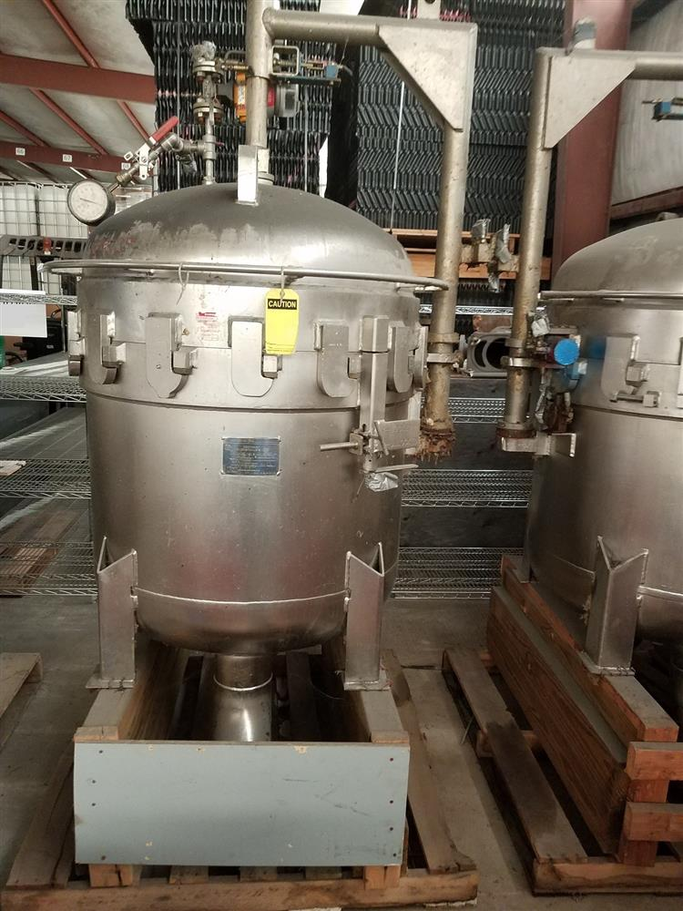 Image FSI 12 Bag Filter #1 - Stainless Steel 1431776
