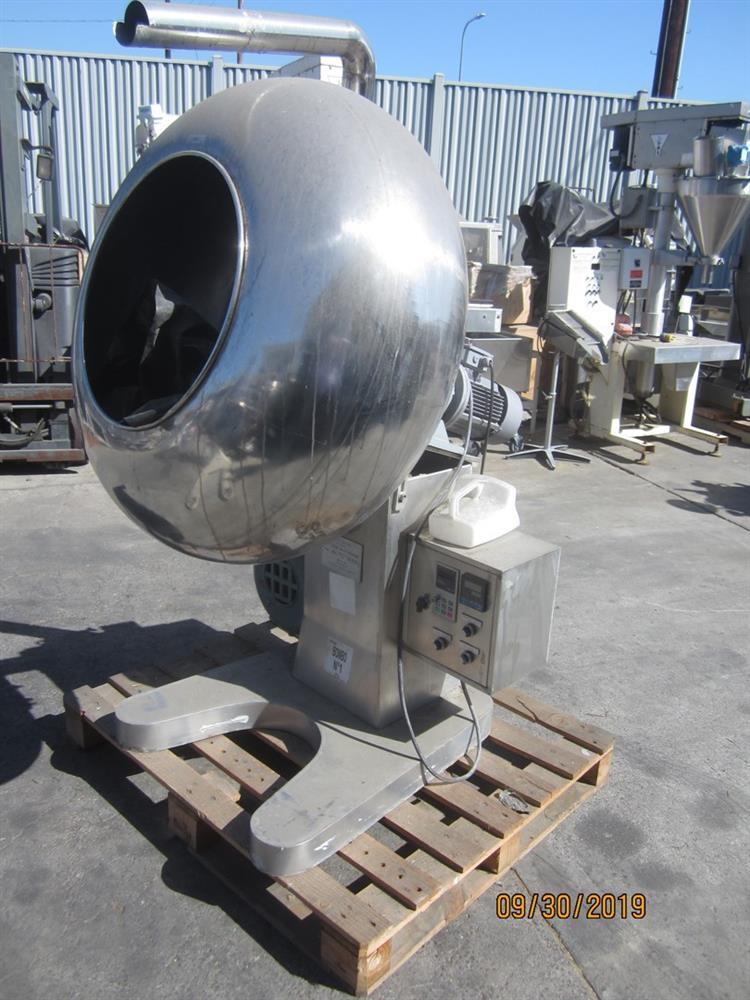 Image 40in Stainless Steel Coating Pan with Blower and 20in Opening 1432690