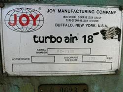 Image 300 HP JOY Turbo Air 18 Centrifugal Compressor 1430697