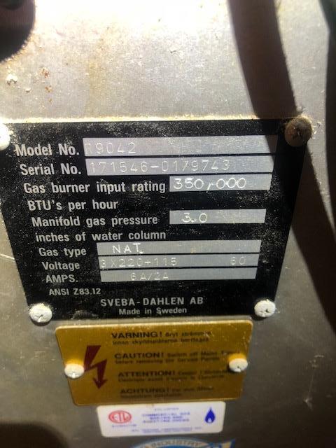 Image SEVBA DAHLEN R9042 Rack Oven 1431115