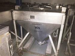 Image METAL CRAFT Powder Tote Bins - Stainless Steel 1431367