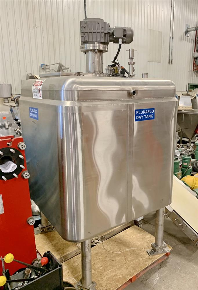 Image 100 Gallon Jacketed Tank with Mixer 1431538