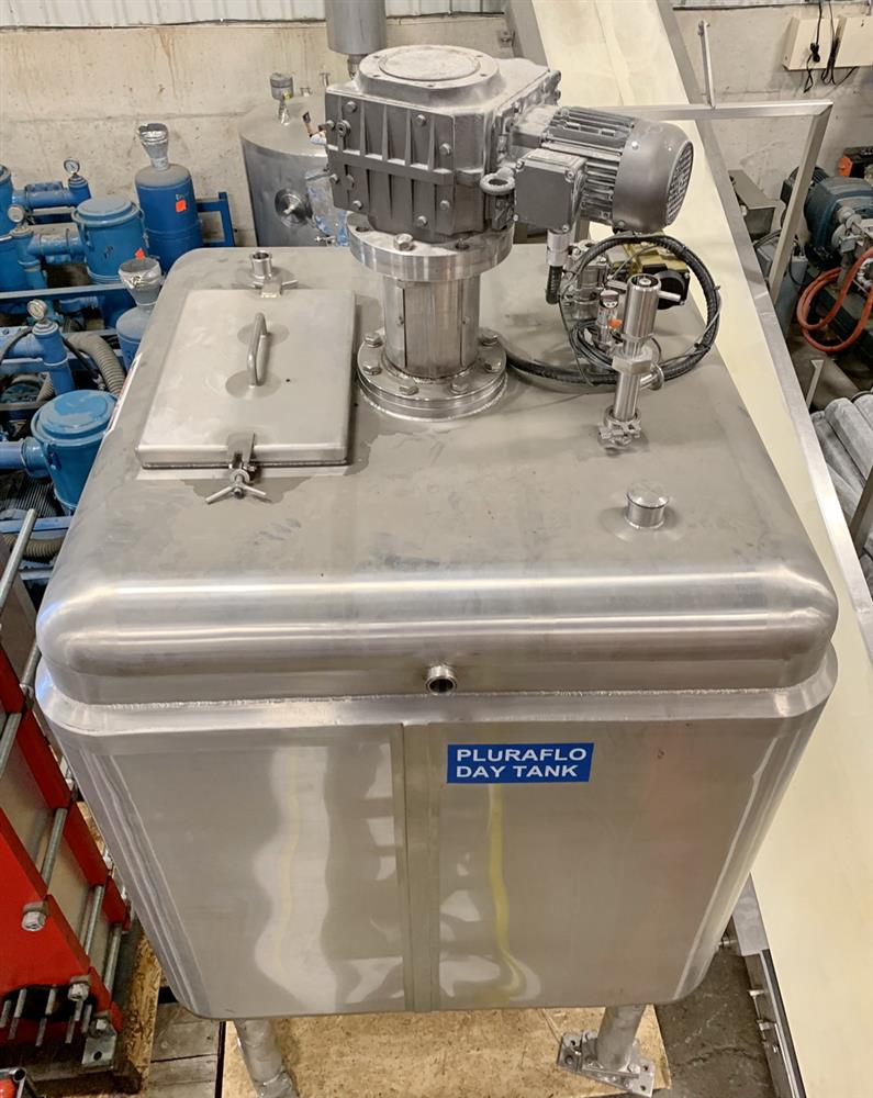 Image 100 Gallon Jacketed Tank with Mixer 1431541
