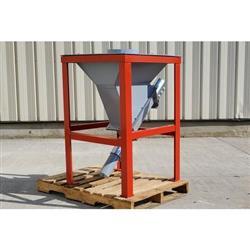 Image 3in Dia. X 20ft Long Flexible Screw Auger Conveyor 1431824
