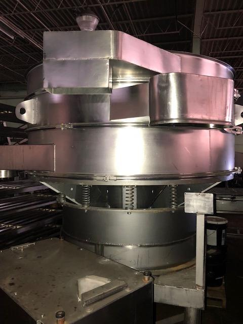 Image 60in SWECO Double Deck Sifter - All Stainless Steel 1432154