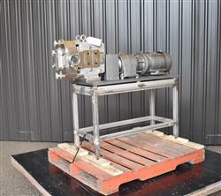 Image AMPCO ZP1 Rotary Lobe Pump - Sanitary, Stainless Steel 1433355