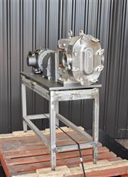 Image AMPCO ZP1 Rotary Lobe Pump - Sanitary, Stainless Steel 1433357