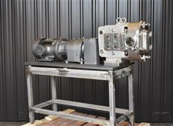 Image AMPCO ZP1 Rotary Lobe Pump - Sanitary, Stainless Steel 1433358