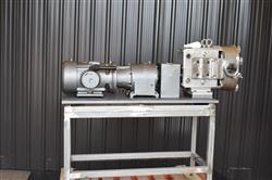 Image AMPCO ZP1 Rotary Lobe Pump - Sanitary, Stainless Steel 1433359