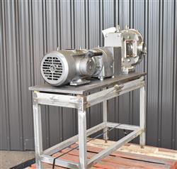 Image AMPCO ZP1 Rotary Lobe Pump - Sanitary, Stainless Steel 1433360