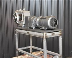Image AMPCO ZP1 Rotary Lobe Pump - Sanitary, Stainless Steel 1433361