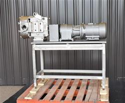 Image AMPCO ZP1 Rotary Lobe Pump - Sanitary, Stainless Steel 1433362