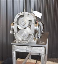 Image AMPCO ZP1 Rotary Lobe Pump - Sanitary, Stainless Steel 1433363