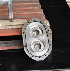 Image AMPCO ZP1 Rotary Lobe Pump - Sanitary, Stainless Steel 1433364
