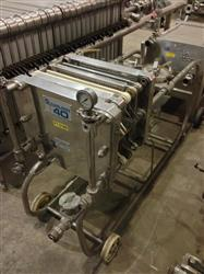 Image APV CARLSON ZR887 Plate and Frame Mobile Filter Press - 400 x 400 mm 1433672