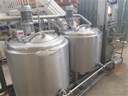 Image CATTA 27 Double Tank Mixer, Homogenizer and Pasteurizer  1433860