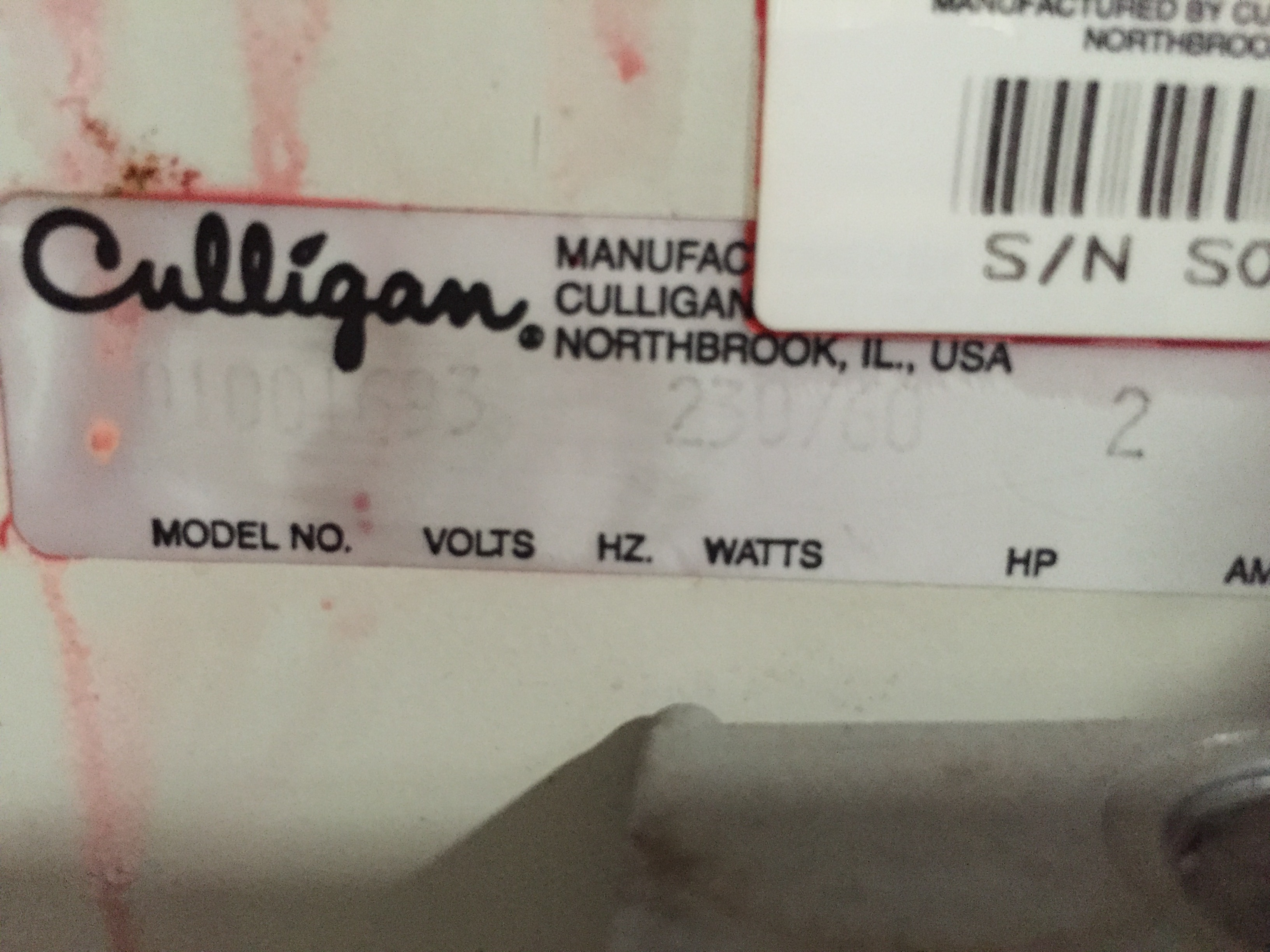 Image CULLIGAN 1001693 Series M Plus Reverse Osmosis System 1434281