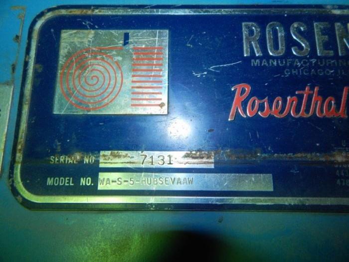 Image 60in ROSENTHAL WA-S-5-Hubsevaaw Sheeter 1434362